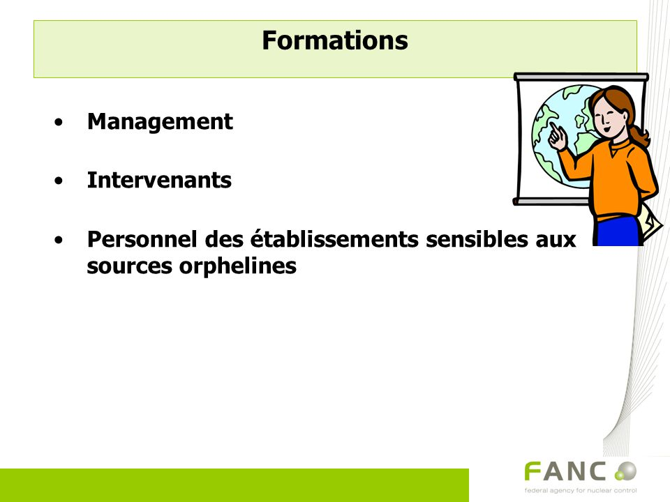 Formations Management Intervenants