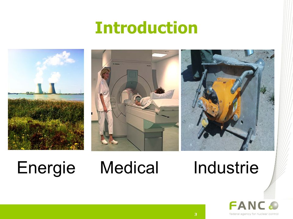 Introduction Samenvatting Energie Medical Industrie 3