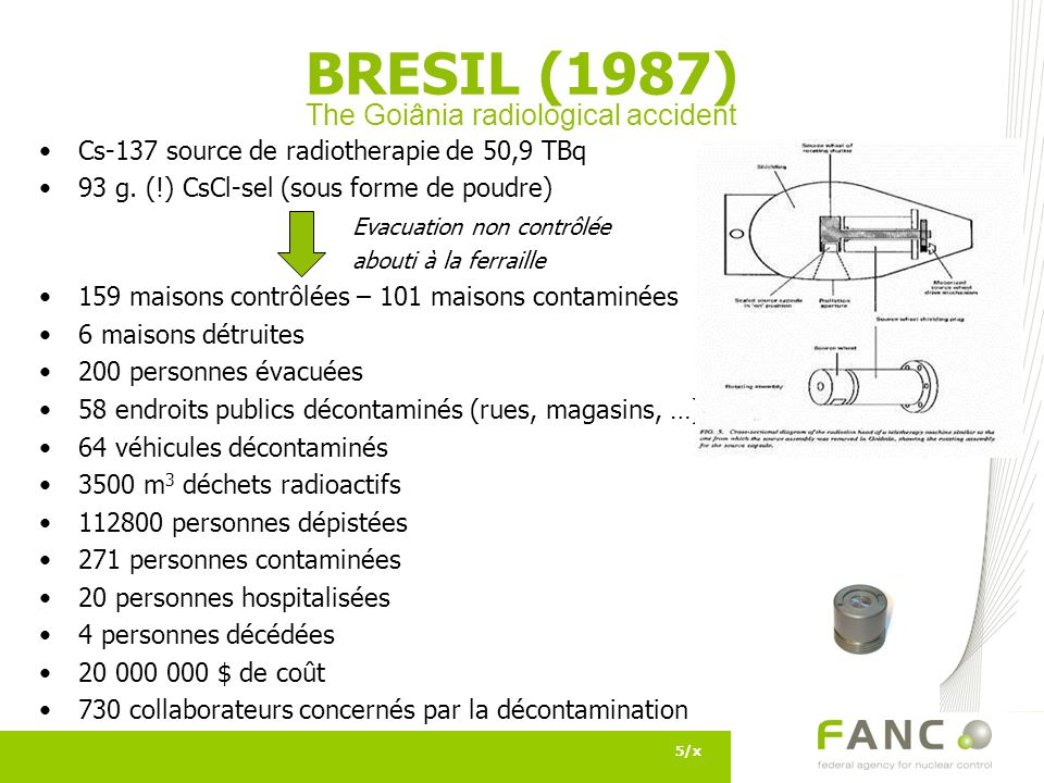 The Goiânia radiological accident