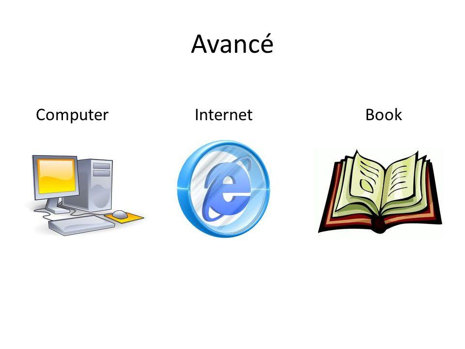 Avancé Computer Internet Book