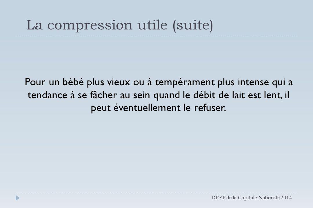 La compression utile (suite)