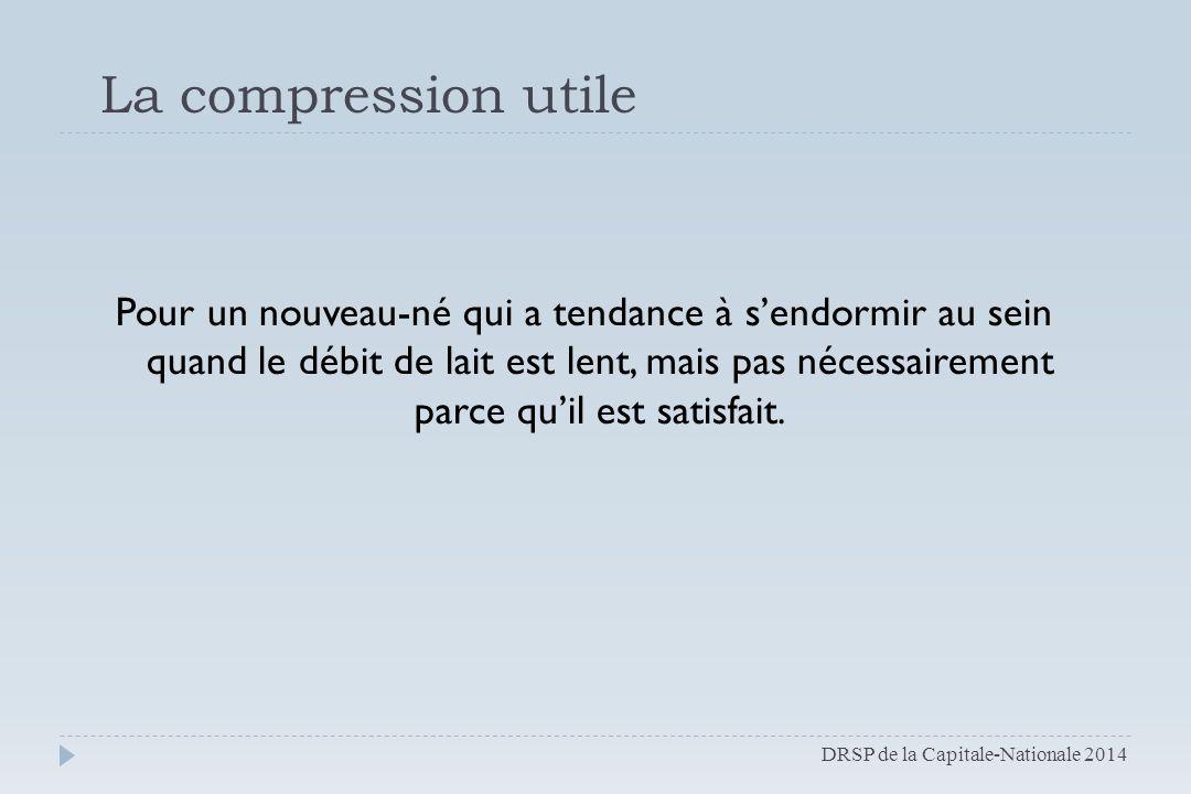 La compression utile