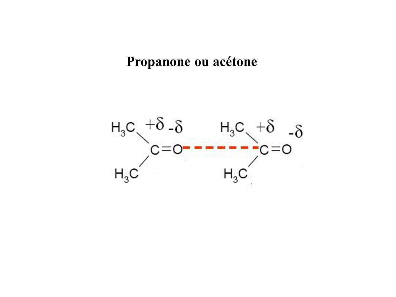 Propanone ou acétone