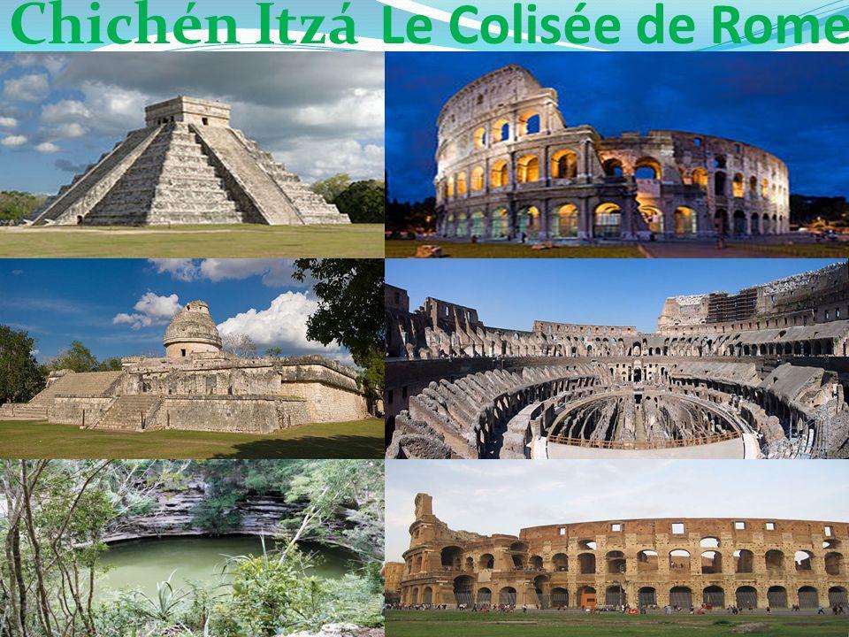 Chichén Itzá Le Colisée de Rome