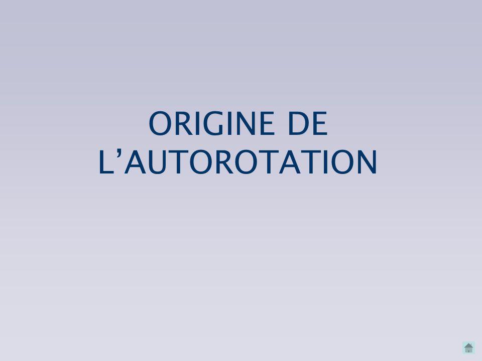 ORIGINE DE L'AUTOROTATION