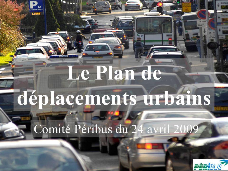 Le Plan de déplacements urbains