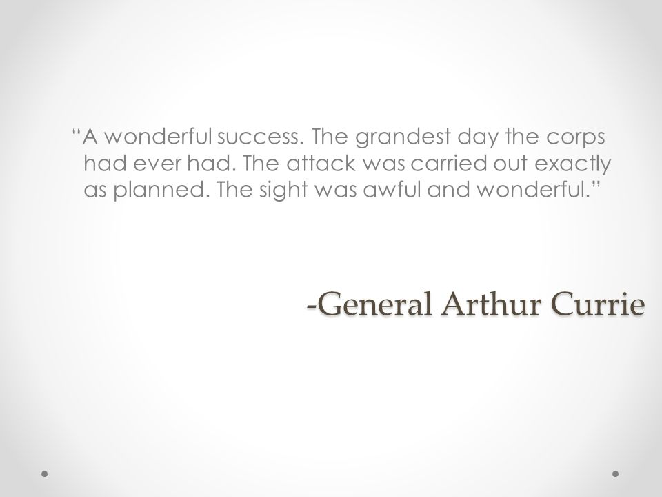-General Arthur Currie