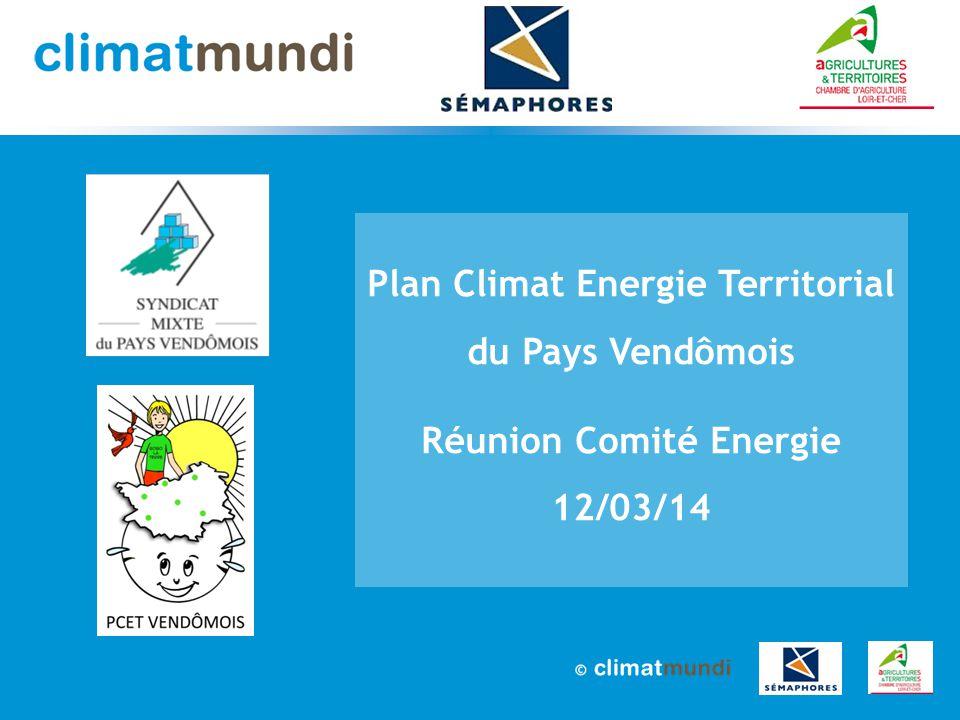 Plan Climat Energie Territorial du Pays Vendômois