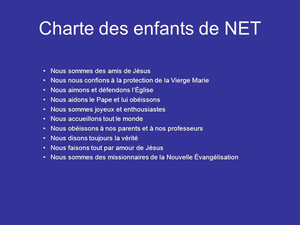 Charte des enfants de NET