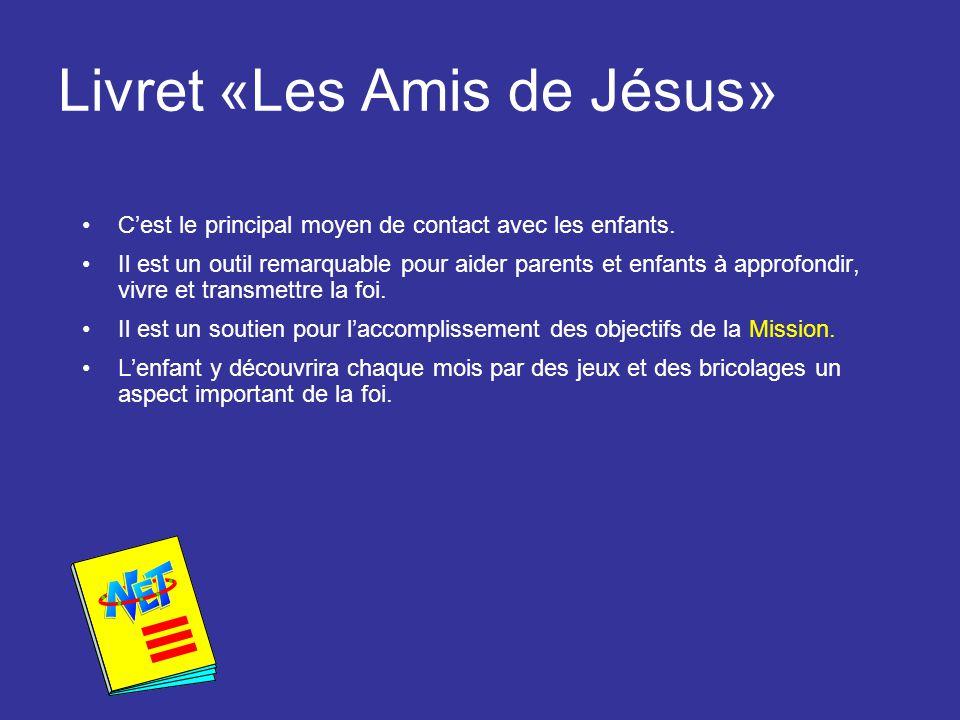 Livret «Les Amis de Jésus»