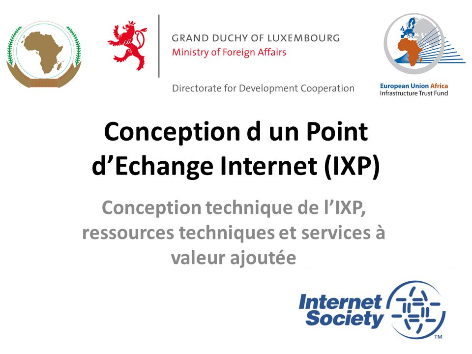 Conception d un Point d'Echange Internet (IXP)