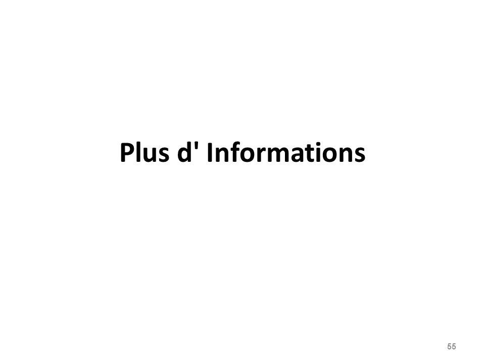 Plus d Informations