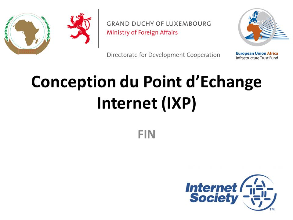 Conception du Point d'Echange Internet (IXP)