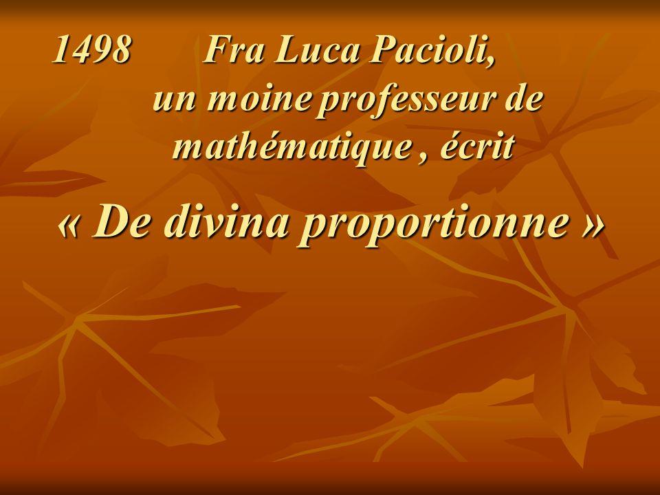 Fra Luca Pacioli, un moine professeur de mathématique , écrit