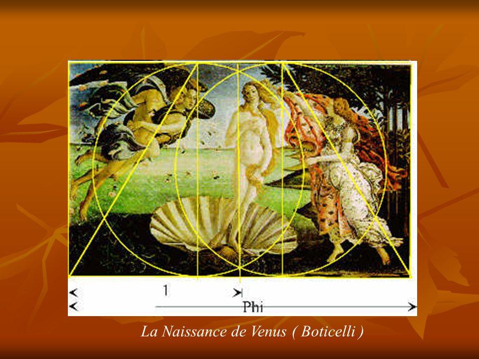 La Naissance de Venus ( Boticelli )