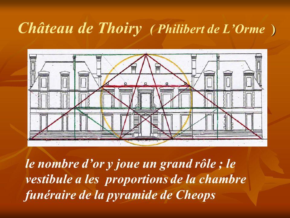 Château de Thoiry ( Philibert de L'Orme )