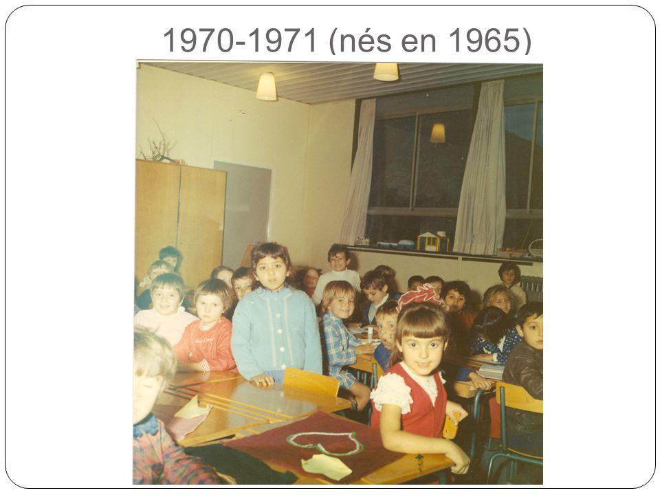 1970-1971 (nés en 1965)