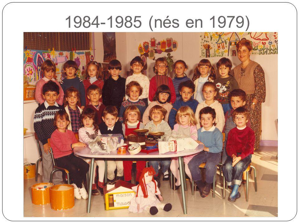 1984-1985 (nés en 1979)