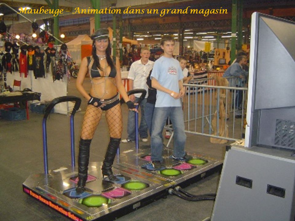 Maubeuge – Animation dans un grand magasin