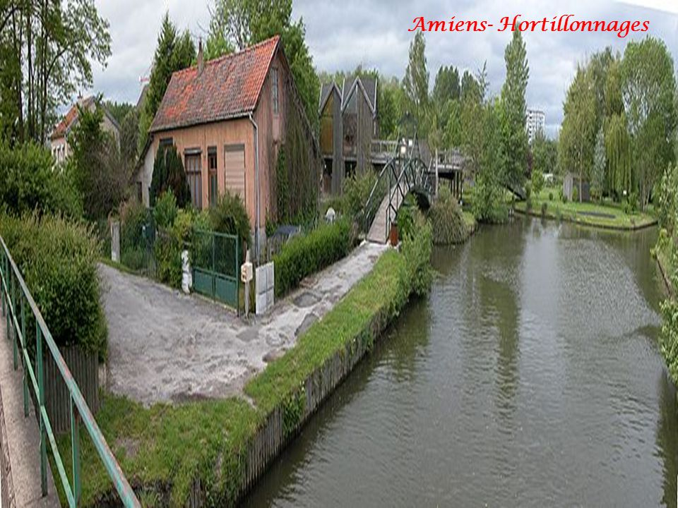 Amiens- Hortillonnages