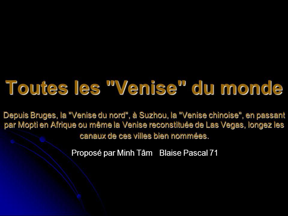 Proposé par Minh Tâm Blaise Pascal 71