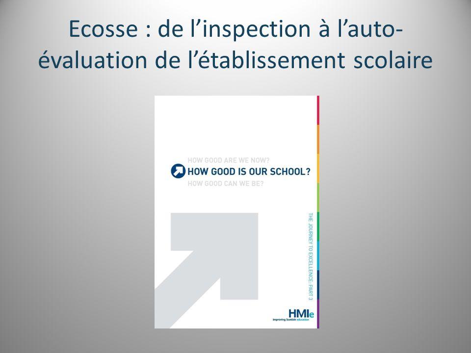 Ecosse : de l'inspection à l'auto-évaluation de l'établissement scolaire