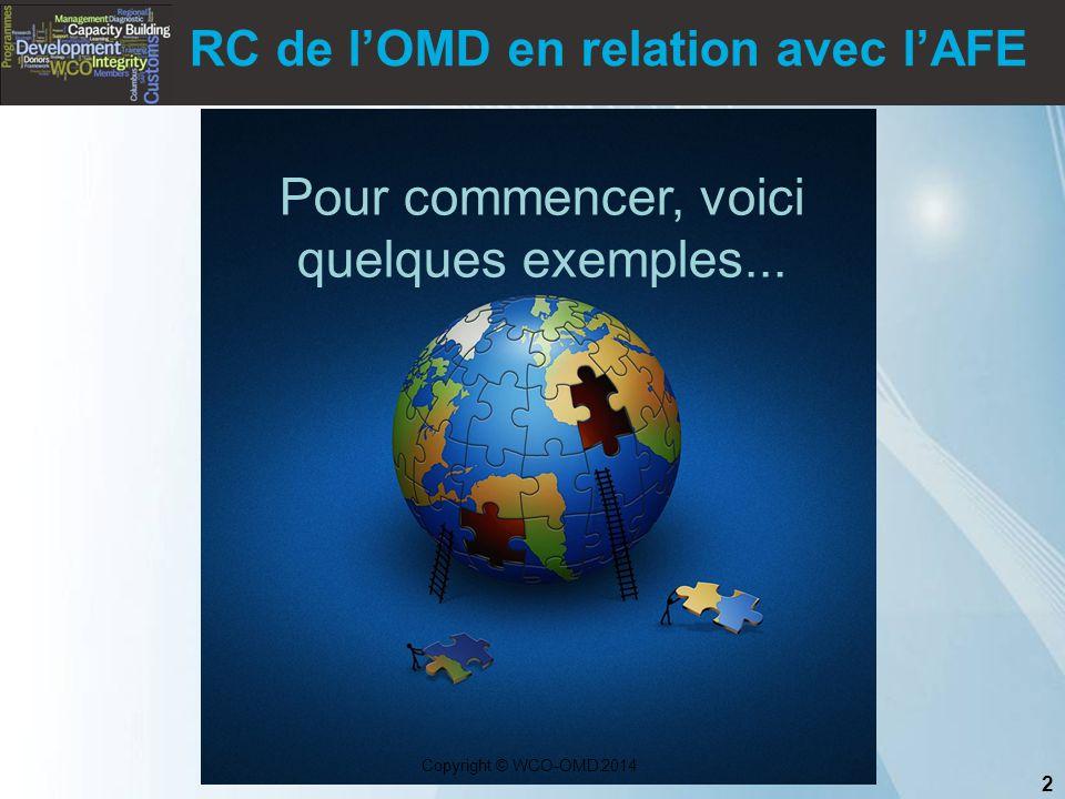 RC de l'OMD en relation avec l'AFE