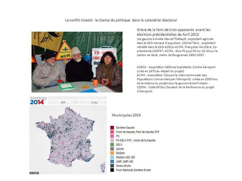 Le conflit investit le champ du politique dans le calendrier électoral