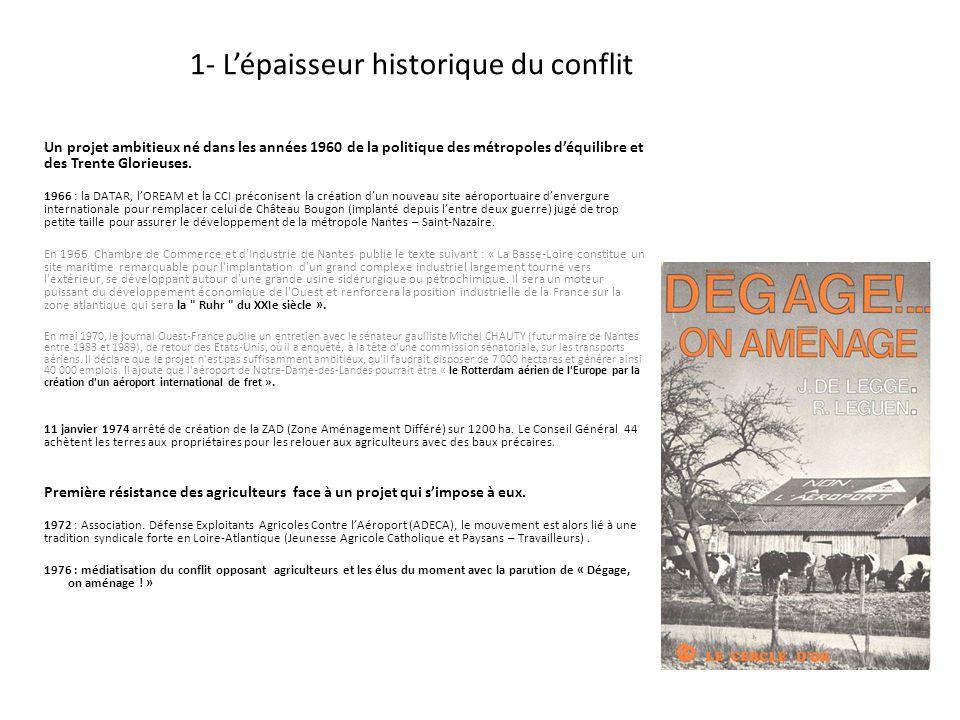 1- L'épaisseur historique du conflit