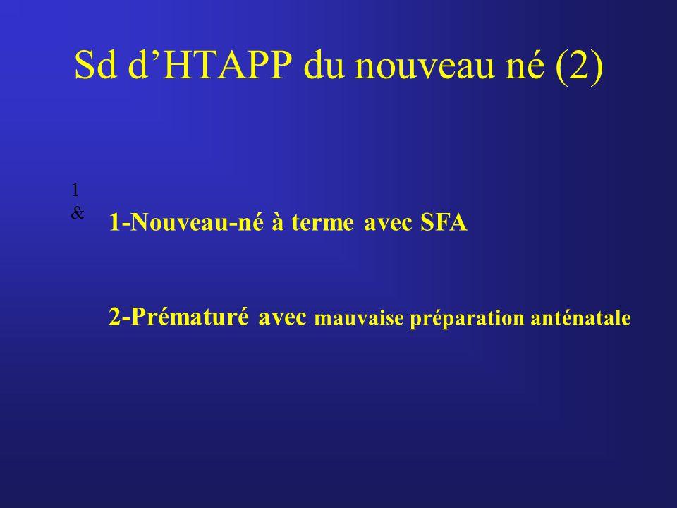 Sd d'HTAPP du nouveau né (2)