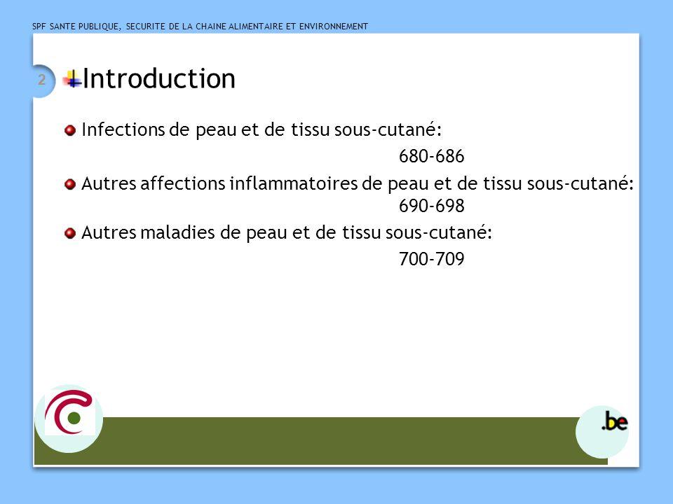 Introduction Infections de peau et de tissu sous-cutané: 680-686