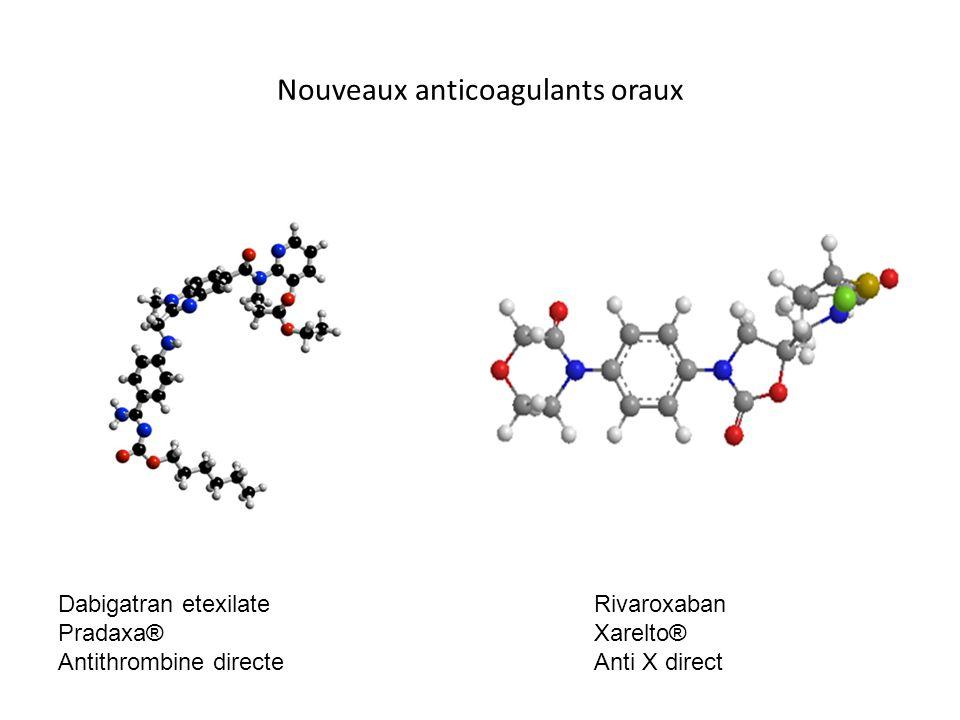 Nouveaux anticoagulants oraux