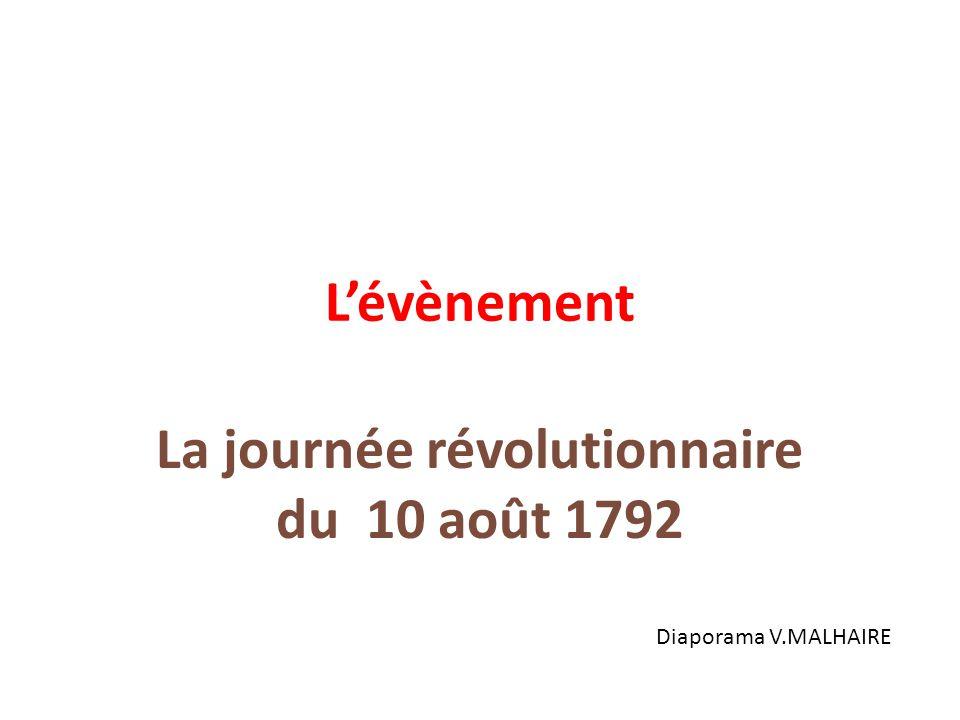 La journée révolutionnaire du 10 août 1792