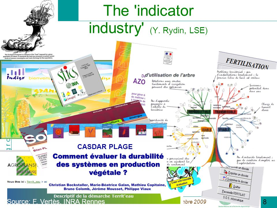 The indicator industry (Y. Rydin, LSE)