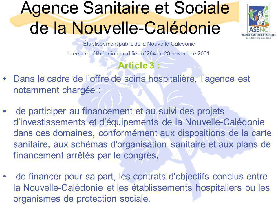 Agence Sanitaire et Sociale de la Nouvelle-Calédonie