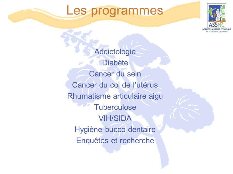 Les programmes Addictologie Diabète Cancer du sein