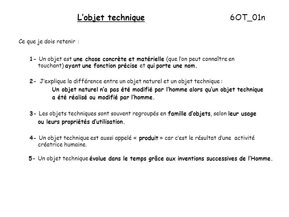 L'objet technique 6OT_01n