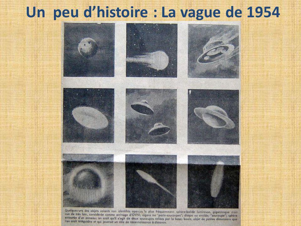 Un peu d'histoire : La vague de 1954