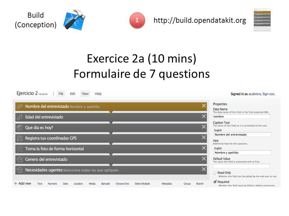 Formulaire de 7 questions
