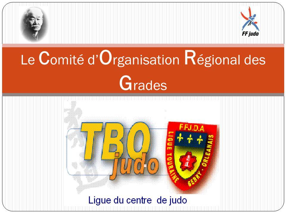 Le Comité d'Organisation Régional des Grades