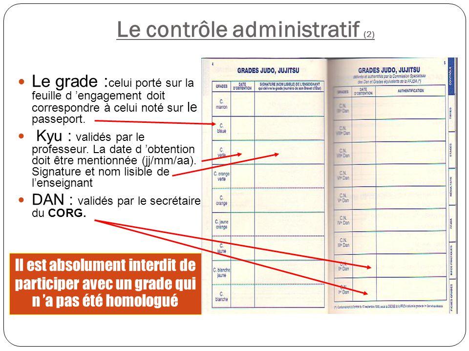 Le contrôle administratif (2)