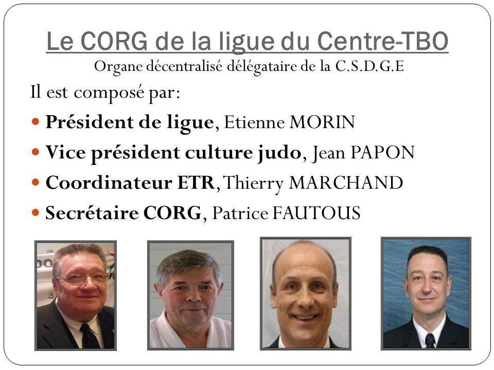 Le CORG de la ligue du Centre-TBO