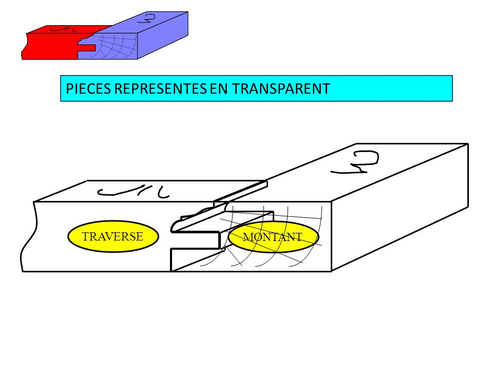 PIECES REPRESENTES EN TRANSPARENT