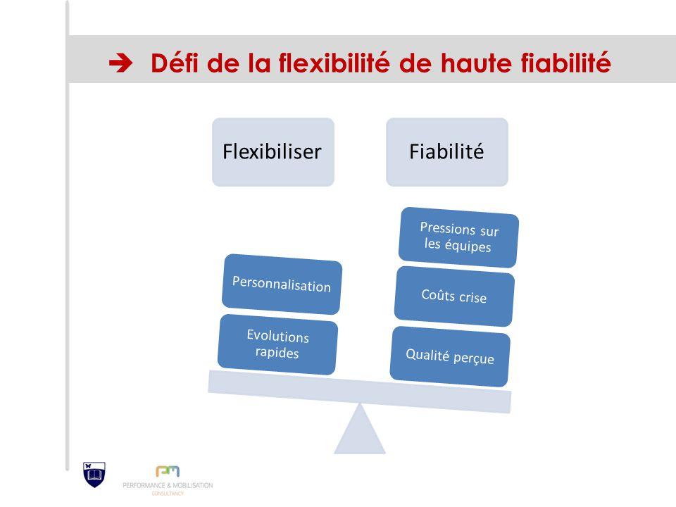  Défi de la flexibilité de haute fiabilité