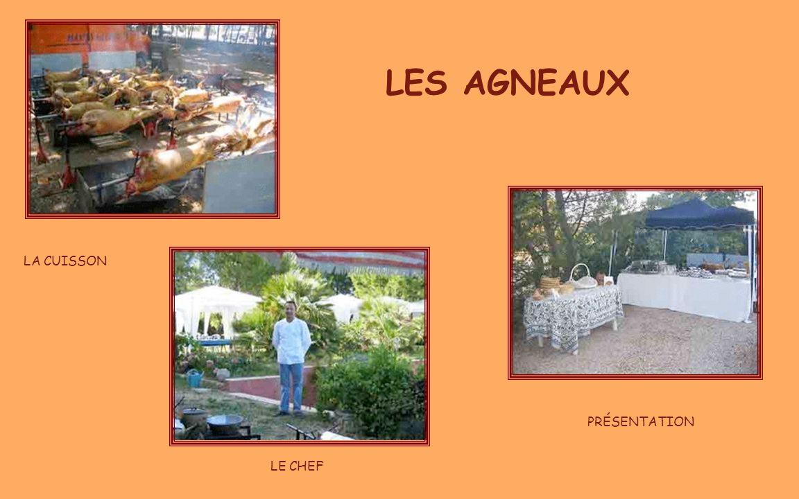 05/04/2017 LES AGNEAUX LA CUISSON PRÉSENTATION LE CHEF