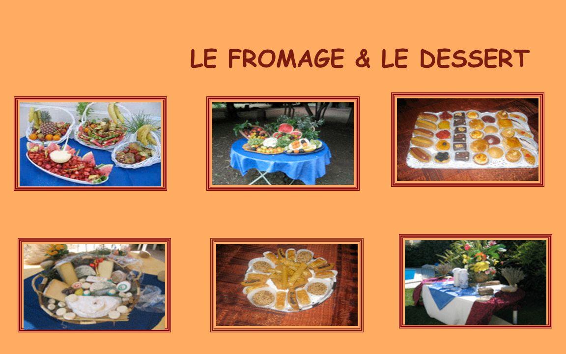 05/04/2017 LE FROMAGE & LE DESSERT