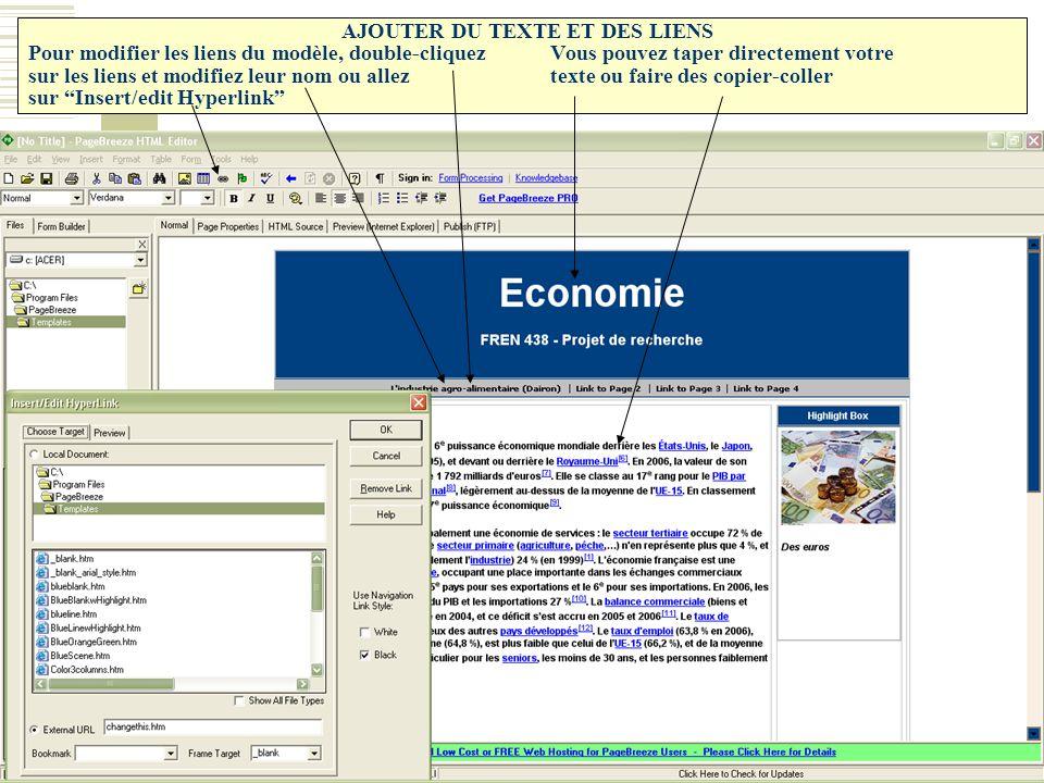 cr u00e9er une page web en quelques clics