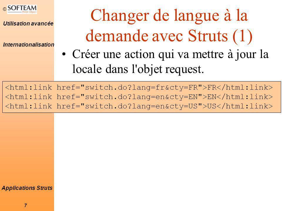 Changer de langue à la demande avec Struts (1)