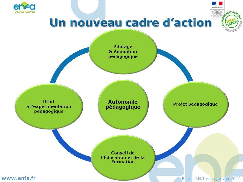 Un nouveau cadre d'action