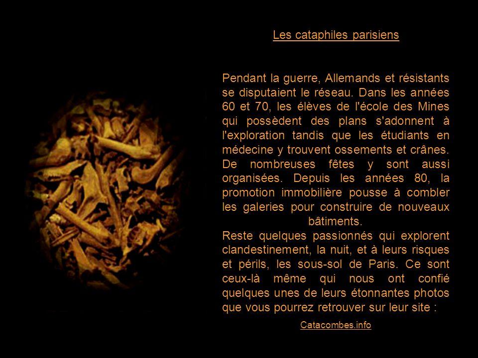 Les cataphiles parisiens